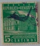 Sellos de America - Venezuela -  Oficina de correos caracas