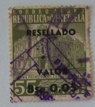 Stamps : America : Venezuela :  Oficina de correos caracas