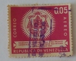 Stamps : America : Venezuela :  Homenaje de Venezuela A su Primer Cardenal Jose Humberto Quintero