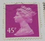 Sellos de Europa - Reino Unido -  Queen Elizabet II