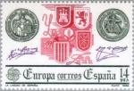 Stamps Spain -  EUROPA - 1982 LA UNIDAD DE ESPAÑA