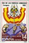 Stamps Spain -  DIA DE LAS FUERZAS ARMADAS Centº Academia General Militar