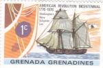 Stamps Grenada -  Bicentenario Revolución Americana