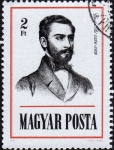 Stamps Hungary -  COL-GYULAI PÁL 1826-1909