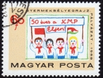 Stamps Hungary -  COL-50 ÉVES A KMP