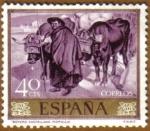 Stamps Spain -  JOAQUIN SOROLLA - Boyero castellano