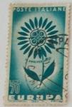 Stamps Italy -  CEPT V Aniversario
