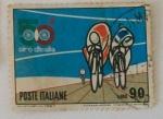 Sellos de Europa - Italia -  50 VUELTA CICLISTICA A ITALIA