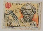 Sellos de Europa - Italia -  ARQUIMEDES