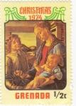 Stamps : America : Grenada :  Navidad