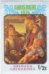Stamps Grenada -  Navidad'74