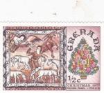 Sellos de America - Granada -  Navidad'77