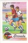 Stamps Grenada -  Futbol