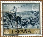 Stamps Spain -  JOAQUIN SOROLLA - El Encierro