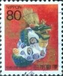 Stamps Japan -  Scott#2723 Intercambio 0,40 usd 80 y. 1999