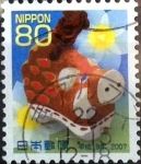 Stamps Asia - Japan -  Scott#2972 Intercambio 1,00 usd  80 y. 2006
