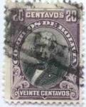Stamps America - Bolivia -  Efigies diversas y escudo