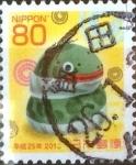 Sellos de Asia - Japón -  Scott#3489 Intercambio 0,90 usd  80 y. 2012