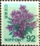 Sellos de Asia - Japón -  Scott#3650 Intercambio 1,40 usd  92 y. 2014