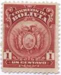 Stamps America - Bolivia -  Escudo