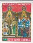 Stamps Equatorial Guinea -  Año Santo-Pascua 75