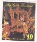Sellos de Africa - Guinea Ecuatorial -  Aniversario de Plata de Isabel II