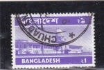 Stamps Bangladesh -  Mausoleo