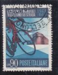 Stamps Italy -  Campeonato Mundila de cliclismo Imola