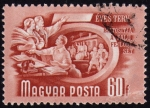 Stamps Hungary -  COL-5 EVES TERV-QUINQUENIO