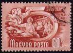 Sellos de Europa - Hungría -  COL-5 EVES TERV-QUINQUENIO