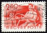 Sellos de Europa - Hungría -  COL-OFICIOS EN HUNGRÍA-TRACTORISTA