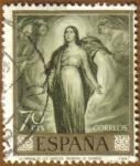 Stamps Spain -  ROMERO DE TORRES - La Virgen de los Faroles