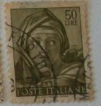 Sellos de Europa - Italia -  POSTE ITALIANE, Michelangelo Buonarroti