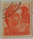Stamps Italy -  POSTE ITALIANE, Michelangelo Buonarroti