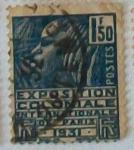 Stamps France -  EXPOCICIÓN COLONIAL INTERNACIONAL DE PARIS