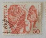 Stamps Switzerland -  HELVETIA