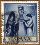 Stamps Spain -  ROMERO DE TORRES - Poema de Cordoba