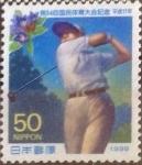 Stamps Japan -  Scott#2707 Intercambio 0,35 usd  50 y. 1999
