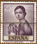 Sellos de Europa - España -  ROMERO DE TORRES - Retrato