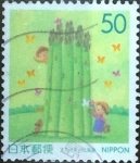 Stamps Japan -  Scott#Z356 Intercambio 0,50 usd  50 y. 1999