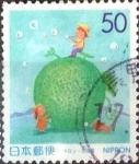 Stamps Japan -  Scott#Z357 Intercambio 0,50 usd  50 y. 1999