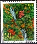 Stamps of the world : Japan :  Scott#Z176 Intercambio 0,50 usd  50 y. 1995