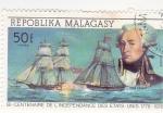 Sellos de Africa - Madagascar -  Bi-centenario de la independencia de los Estados Unidos