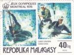 Stamps Madagascar -  Juegos Olímpicos Montreal-76