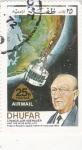 Stamps Oman -  Canciller Adenauer