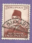 Stamps Indonesia -  INTERCAMBIO