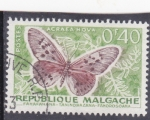 Stamps : Africa : Madagascar :  Mariposa