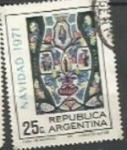 Sellos de America - Argentina -  SCOTT N°970 (Cotiz.0.25 USD)