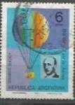 Sellos de America - Argentina -  INTERCAMBIO SCOTT N° 1073 (cotiz. 0.25 USD)