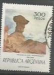 Sellos de America - Argentina -  INTERCAMBIO SCOTT N°1108  (cotiz.1.50 USD)